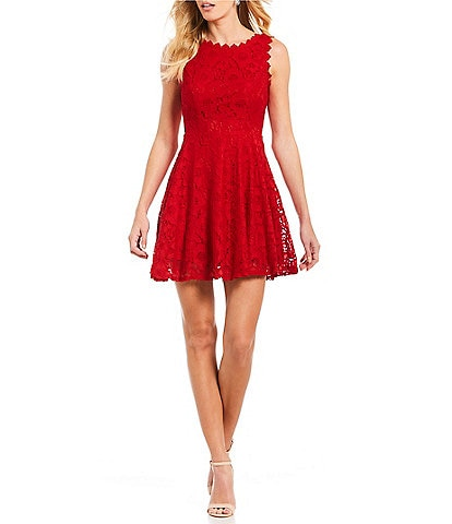 0274bb0fe41 Red Juniors  Short Prom   Formal Dresses