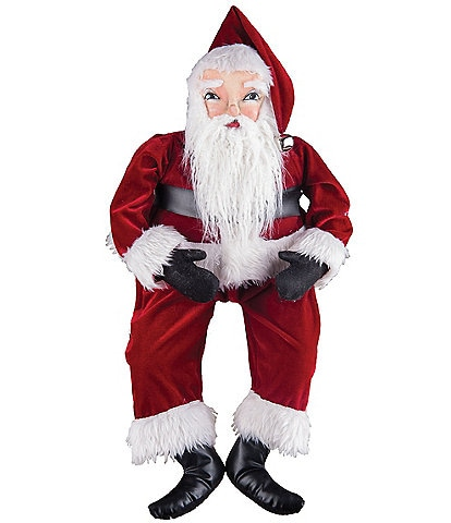 Joe Spencer's Gathered Traditions Holiday Collection Whittaker Santa Soft Figurine