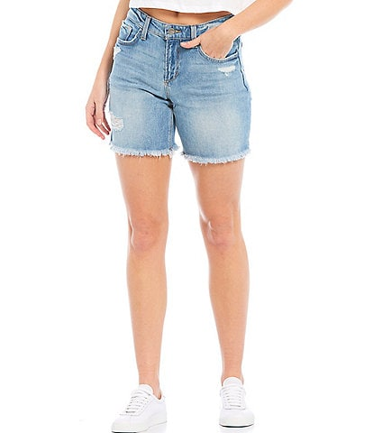 Joe's Jeans Lara Bermuda Distressed Short