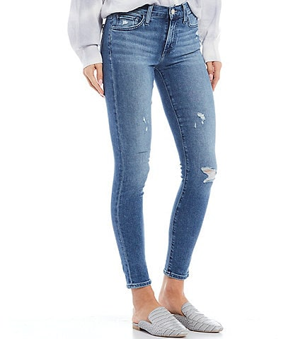 Joe's Jeans The Icon Distressed Skinny Ankle Jeans