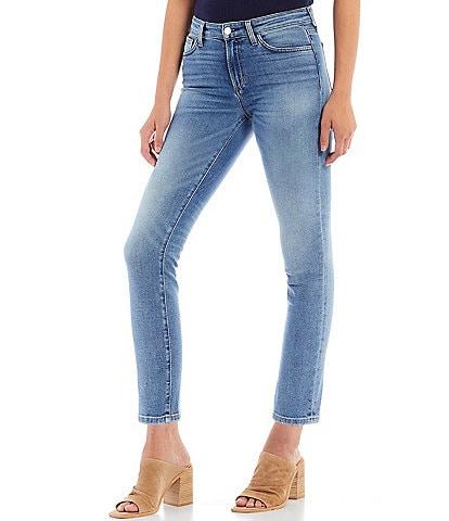 Joe's Jeans The Lara Ankle Skinny Clean Hem Stretch Denim Jeans
