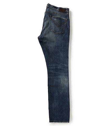 John Varvatos Star USA Bowery Fit Straight Leg Jeans