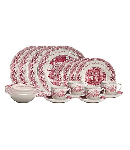 Johnson Brothers Twas the Night Before Christmas 20-Piece Dinnerware Set