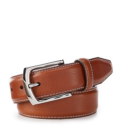 Johnston & Murphy Men's Topstitch Belt