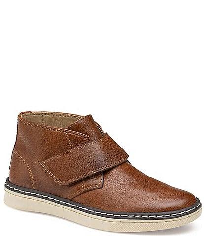 Johnston & Murphy Boys' McGuffey Leather Chukka Boots (Toddler)