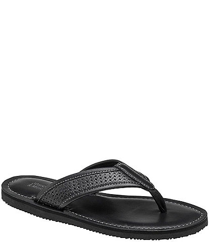 Johnston & Murphy Boys' Norris Thong Shoes (Youth)