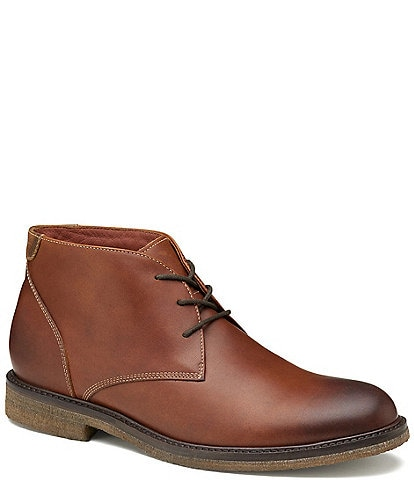Johnston & Murphy Men's Copeland Water Resistant Chukka Boots