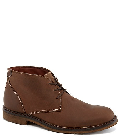 Johnston & Murphy Men's Copeland Water-Resistant Lace-Up Chukka Boots