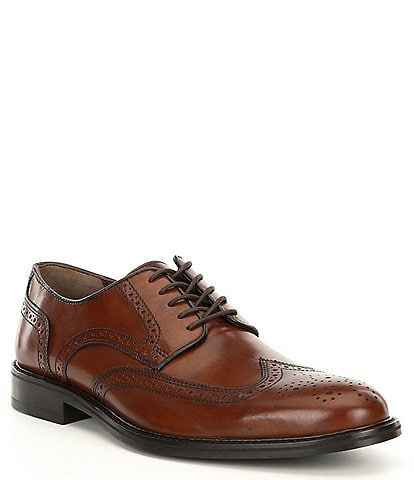 Johnston & Murphy Daley Leather Wing Tip Oxford