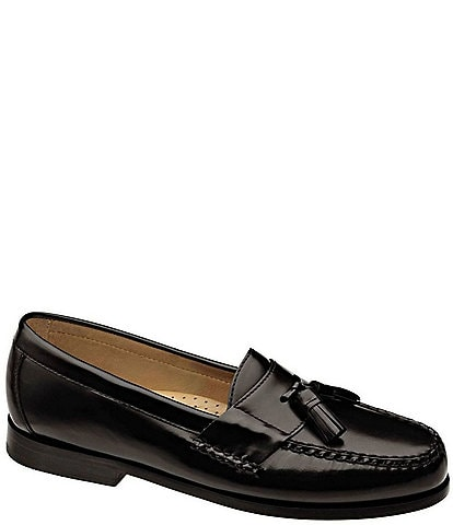 72e84a637f15 Johnston   Murphy Men s Hayes Tassel Dress Loafers