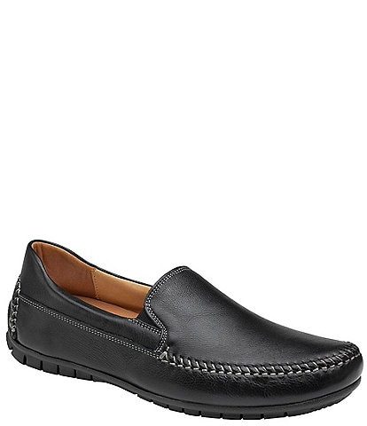 Johnston & Murphy Men's Cort Whipstitch Venetian Loafers