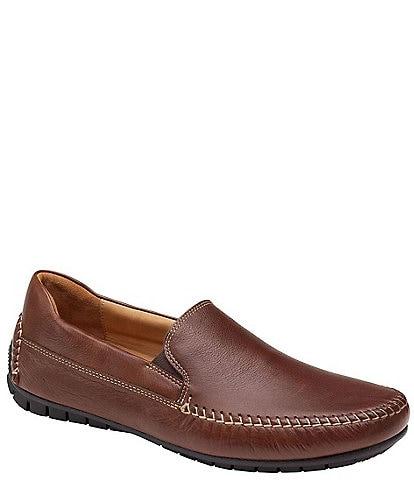 Johnston & Murphy Men's Cort Whipstitch Venetian Loafers