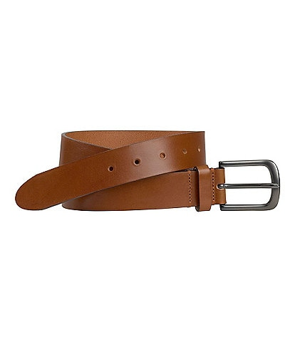 Johnston & Murphy Men's Flat Edge Belt
