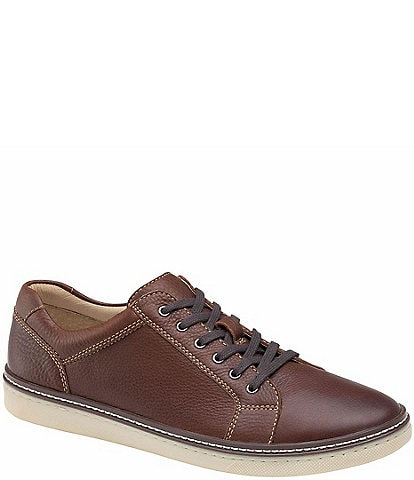 Johnston & Murphy Men's Guffey Lace To Toe Leather Oxfords