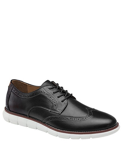 Johnston & Murphy Men's Holden Wingtip Lace-Up Shoes