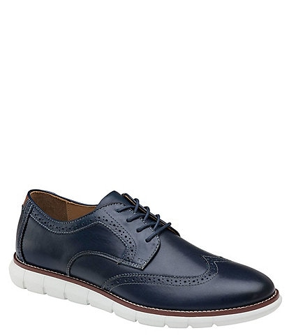 Johnston & Murphy Men's Holden Wingtip Lace-Up Oxford Shoes