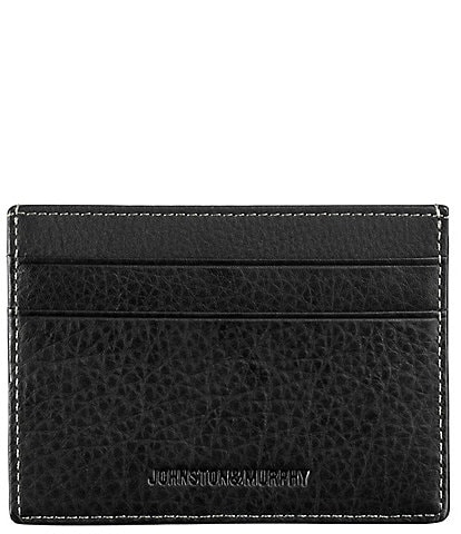 Johnston & Murphy Men's Leather Weekender Case