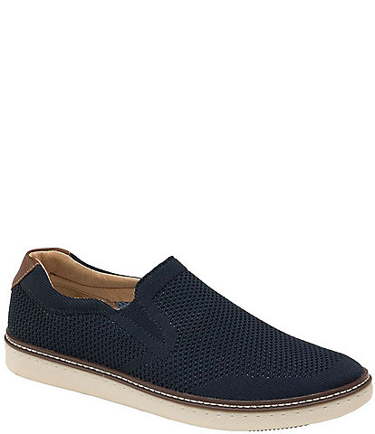 Johnston & Murphy Men's McGuffey Knit Slip-Ons