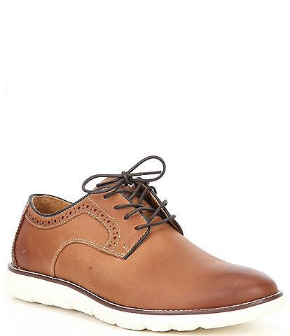 Johnston & Murphy Men's Plain Toe Leather Casual Shoes