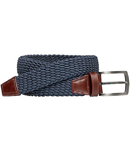 Johnston & Murphy Men's Stretch Knit Belt