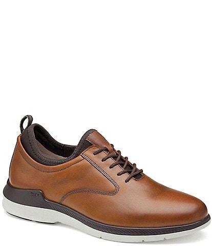 Johnston & Murphy Men's XC4® Lancer Plain Toe Waterproof Leather Oxfords