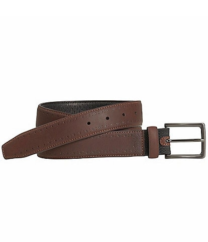 Johnston & Murphy Men's XC4 Perf Edged Waterproof Belt