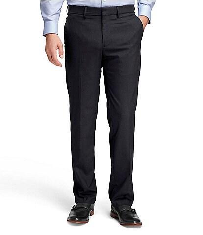 Johnston & Murphy Non-Iron Flat-Front Dress Pants
