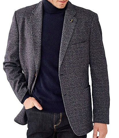 Johnston & Murphy Classic Fit Unconstructed Knit Blazer