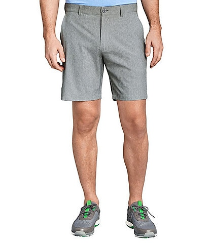 Johnston & Murphy XC4 Stripe Stretch 9#double; Inseam Golf Shorts