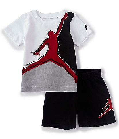 Jordan Baby Boys 12-24 Months Jumpman Muscle Tee & Shorts Set