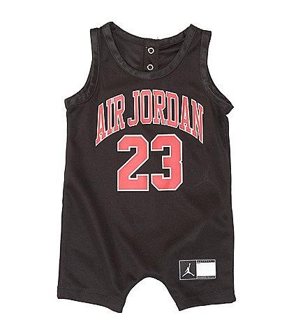 Jordan Baby Boys Newborn-24 Months Air Jordan Jersey Romper