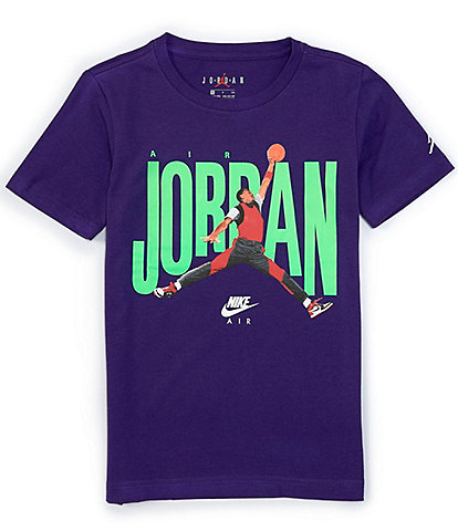 Jordan Big Boys 8-20 Short-Sleeve MJ Crew 2 Tee