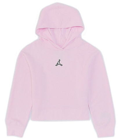 Jordan Big Girls 7-16 Cropped Fleece Pullover Hoodie