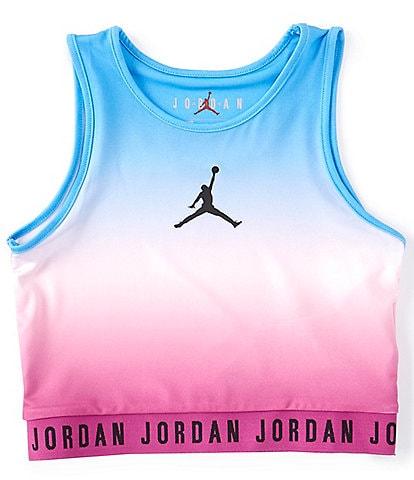 Jordan Big Girls 7-16 Jumpman Active Ombre Tank Top