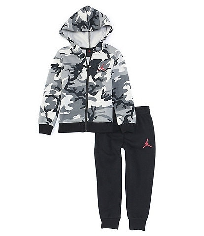 Jordan Little Boys 2T-7 Essentials Camouflage Fleece Jacket & Jogger Set