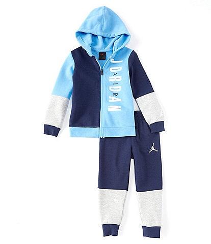 Jordan Little Boys 2T-7 Half Court Colorblock Jacket & Pant Set