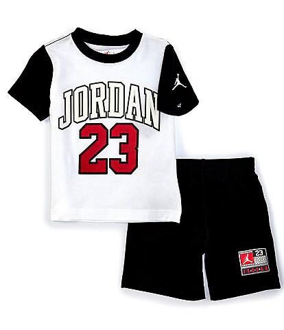 Jordan Little Boys 2T-7 Short-Sleeve 23 Pieced Tee & Shorts Set