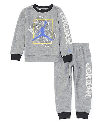 Jordan Little Boys 2T-7 Utility Fleece Sweatshirt & Jogger Pant Matching Set