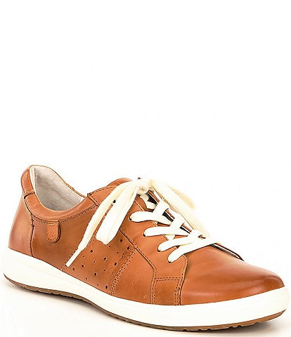 Josef Seibel Caren 01 Leather Sneakers