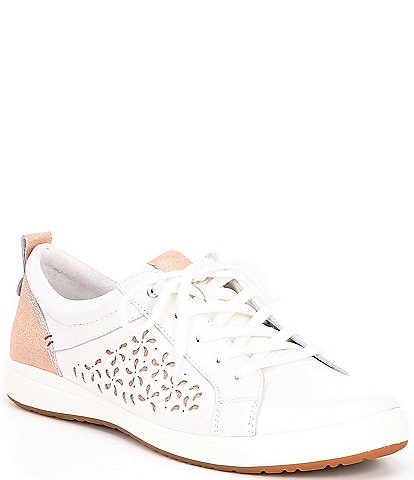 Josef Seibel Caren 06 Perforated Leather Sneakers