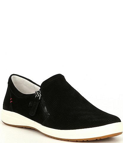 Josef Seibel Caren 22 Leather Perforated Sneakers