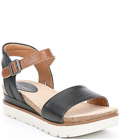 Josef Seibel Clea 01 Leather Platform Sandals