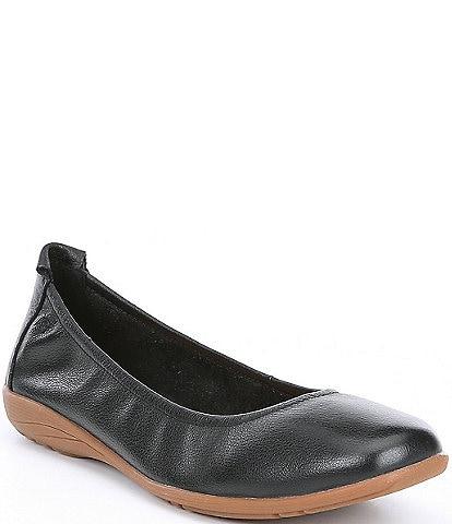 Josef Seibel Fenja 01 Leather Ballerina Slip Ons