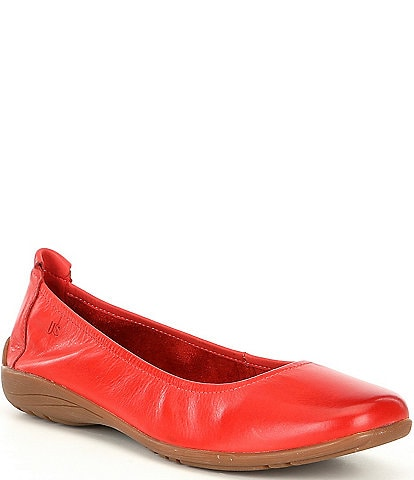 Josef Seibel Fenja 01 Leather Ballerina Slip Ons