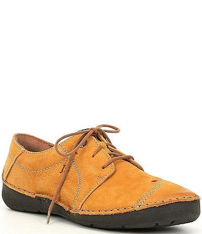 Josef Seibel Fergey 20 Leather Oxford Sneakers