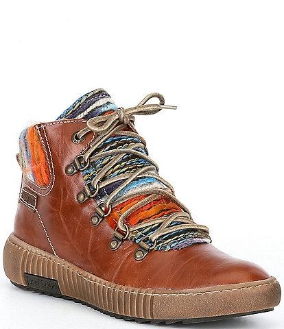 Josef Seibel Maren 06 Leather Wedge Booties