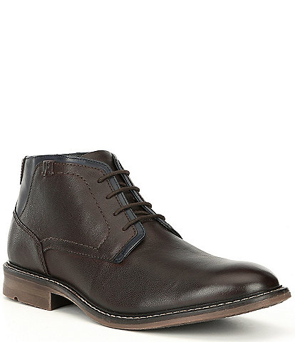 Josef Seibel Men's Earl 04 Paneled Leather Chukka Boot