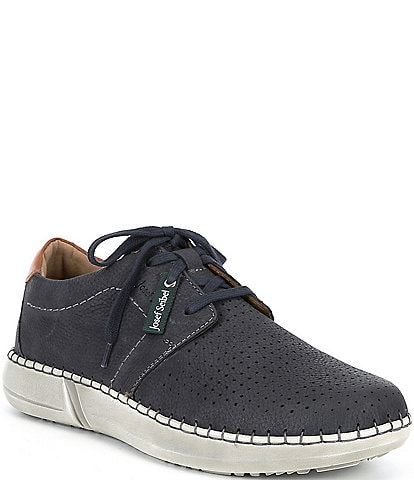 Josef Seibel Men's Louis 06 Perforated Leather Lace-Up Oxfords