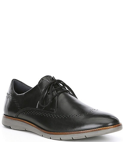 Josef Seibel Men's Tyler 33 Leather Oxford with Brogue Detail