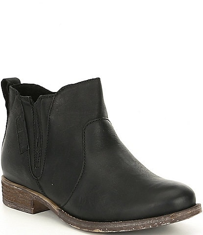 Josef Seibel Sienna 45 Leather Block Heel Booties